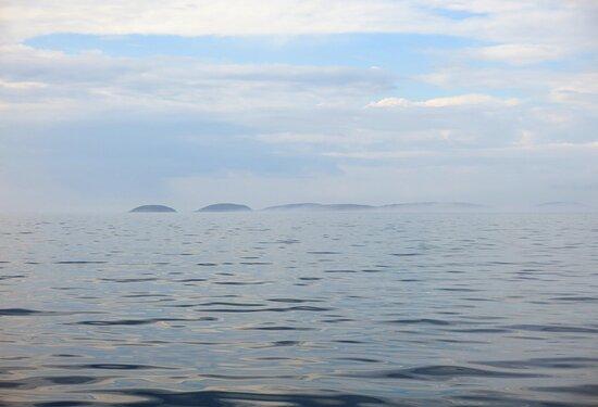Bolshoy Solovetsky, Nga: The White Sea is really white...