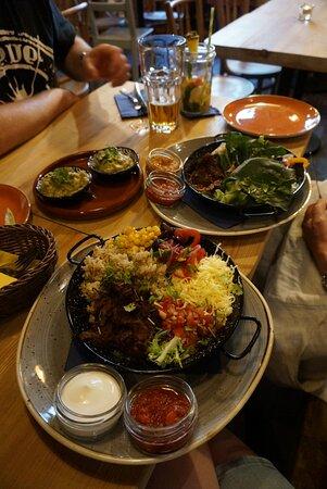 Fantastisk autentisk mexicansk mad!