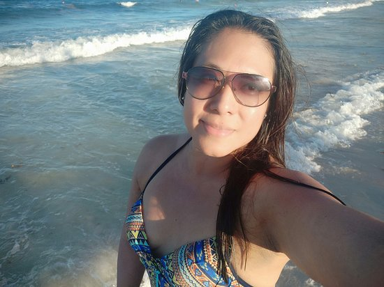 Bellas ´playas, mayo 2019 poco zargazo, aguas tibias ! playa del Carmen