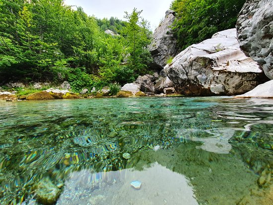Valbona, Albania: Valone River, Choose Balkans Team