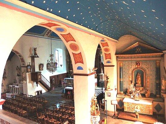 Eglise Sainte Eulalie de Lescun