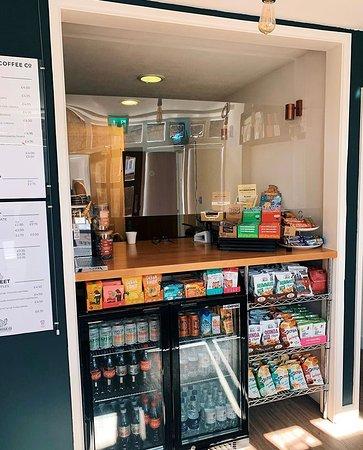 Fernhurst, UK: Vast Snack Selection