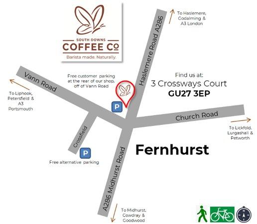 Fernhurst, UK: Map of the Area