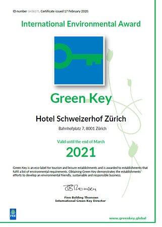Green Key Award