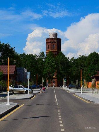 Зарайск. Вид на водонапорную башню