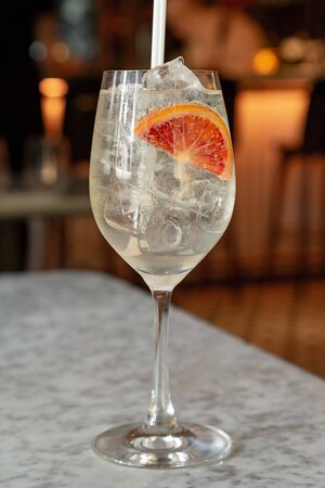 A firm favourite on the il Pampero menu - the Peppe's Spritz