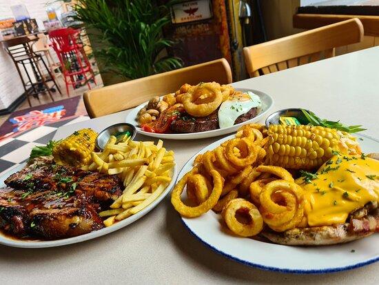 Poringland, UK: Food