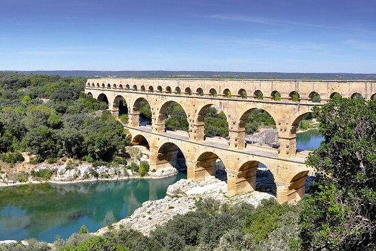 Excursion d'une demi-journée à Nîmes, Uzès, et au Pont du Gard au...