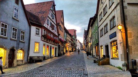 Schmiedgasse: Scenic German town.