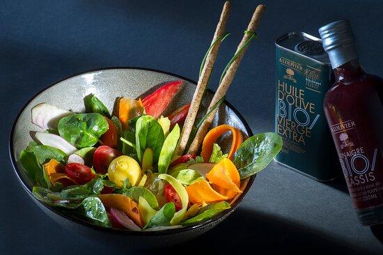 La Fraicheur Colorée de Madame - légèreté et vitamines pour une journée d'été.