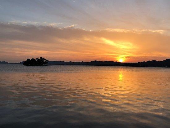 Lake Shinji Sunset Spot Toruba