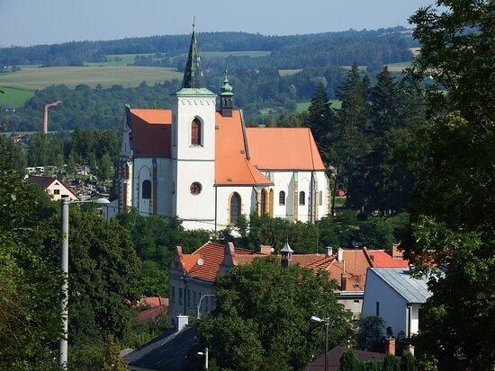 Letovice, República Checa: pohled od zámku