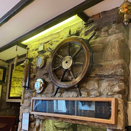 Brilliant and cosy characterful old pub