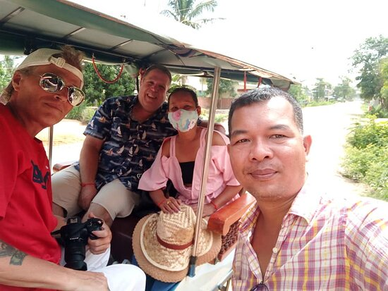 Our 3 days with Bros were fantastic. He showed us Angkor Wat and Siem Reap. We had a great time, Thanks Bros...We will see you again my friend. Tim