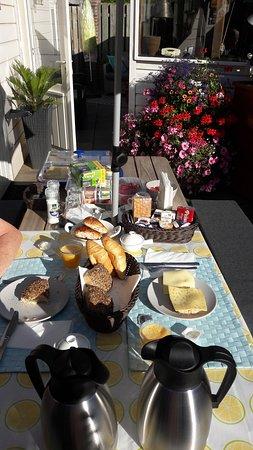 Een heerlijk ontbijtje!