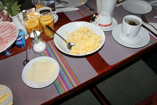 Bozi Dar, Τσεχική Δημοκρατία: Frühstücks Ausschnitt