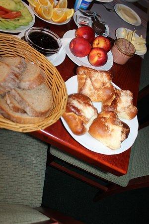 Bozi Dar, Τσεχική Δημοκρατία: Frühstücks Detail
