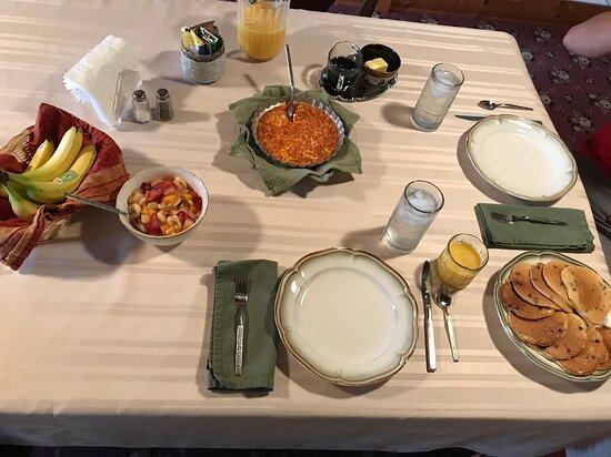Ord, NE: Breakfast spread