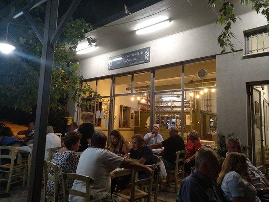 Ano Lechonia, Grécia: Φαγητό στου Φουτζόπουλου.