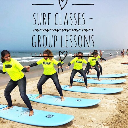 Costa da Caparica, Portugal: Group lessons join 5 friends and get 20% discounts until 30 august 2020