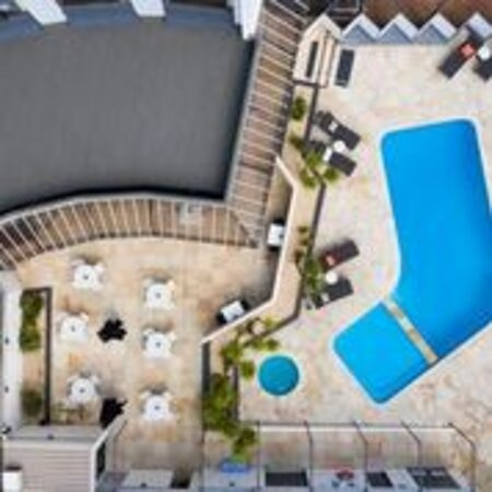 Areal view of Pool Area