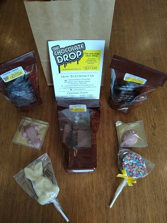 Drop everything & head to Chocolate Drop