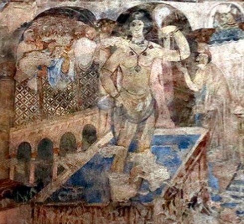 Azraq, Jordanie: Castelli nel deserto Quseir Amra 24