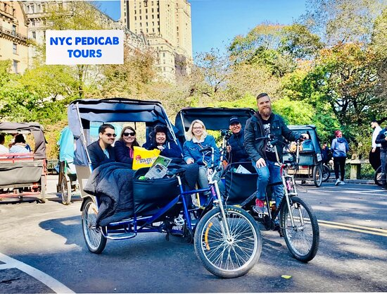 Central Park & NYC Pedicab Tours