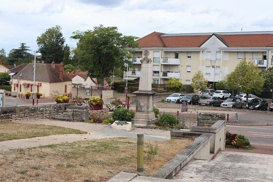 Saone-et-Loire, Frankrijk: vue extérieure