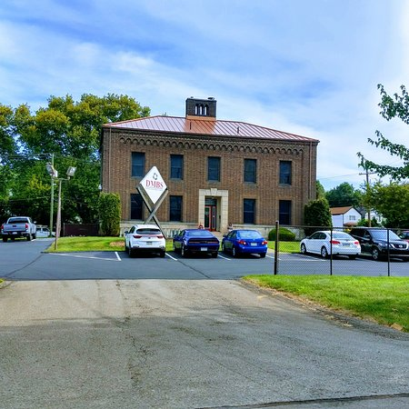 A historical building that was part of the old Jeannette train station