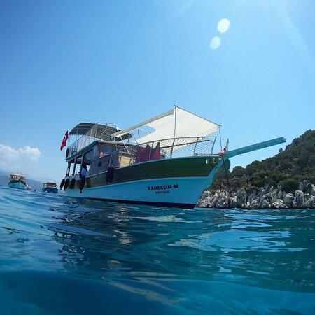 Kekova kardeşim-m boat