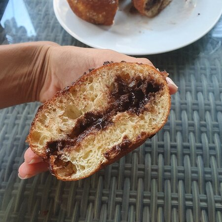 Yummy bombo and perfect bread