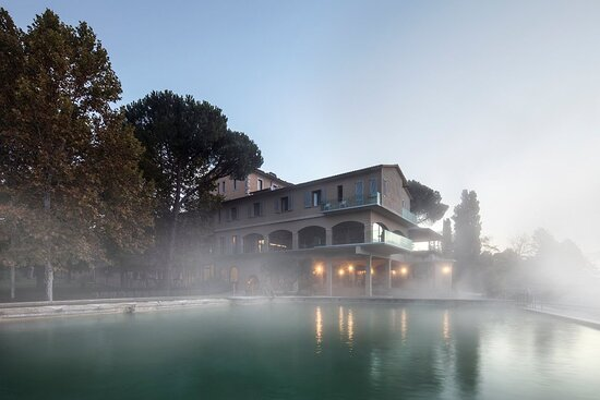 باجنو فينوني, إيطاليا: Il Tepore dell'acqua termale di Bagno Vignoni