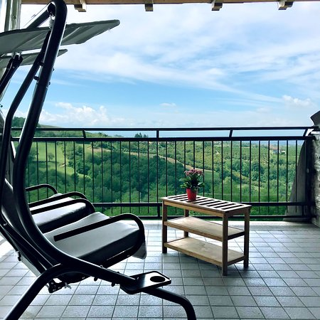 Belvedere Langhe, Olaszország: Momenti di relax sulla nostra terrazza