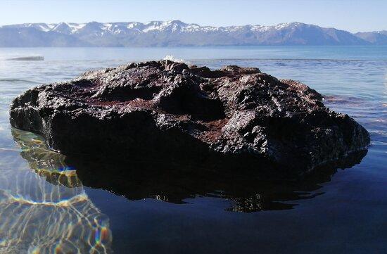 Geothermal Sea-baths admission ticket: Rock in the pool