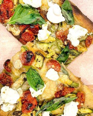Pizzas à la coupe