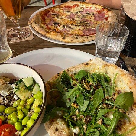 Excellentes pizzas!
