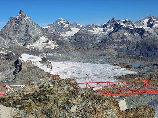 Matterhorn Glacier Paradise: Tolle Gletscherwelt