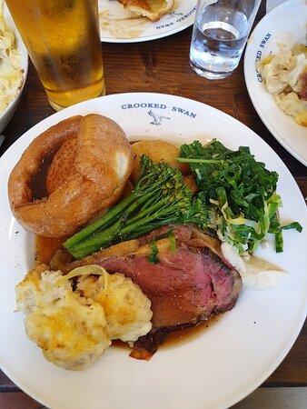 Fantastic roast dinner