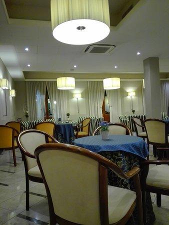 Hall dell'hotel Boston di Montecatini Terme