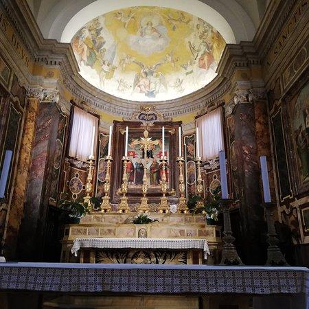 Madonna in gloria con i Santi Protasio, Gervasio, Pietro e Paolo