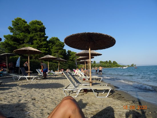 Chrisi Akti Beach