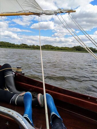 Upton, UK: Taking a relaxed approach