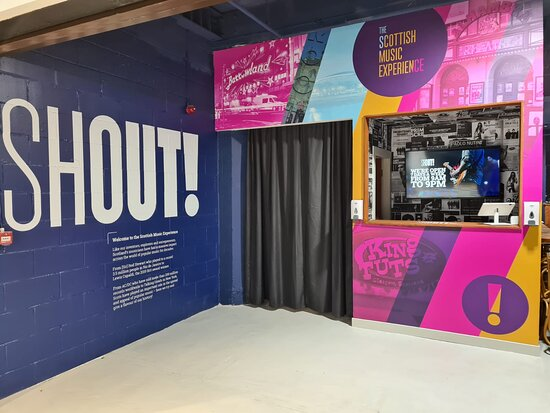 Shout! The Scottish Music Experience