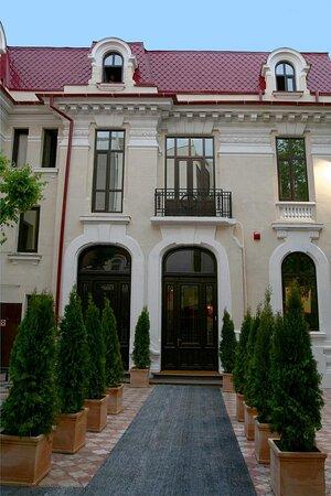Le Boutique Hotel Moxa: Interior garden