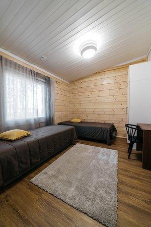 Alapitka, Finnland: Koukku-mökki makuuhuone 2