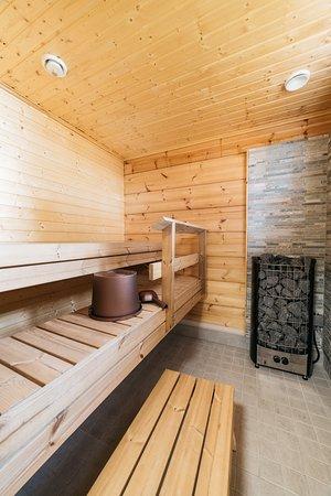 Alapitka, Finnland: Koukku-mökki sauna