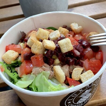 Salade goûteuse et accessible