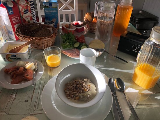 Outokumpu, Finnország: Breakfast