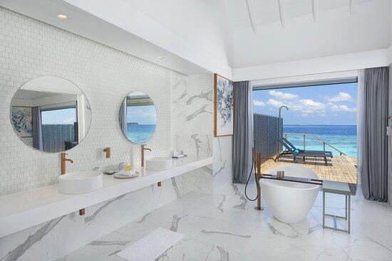 Water Pool Villa Bathroom view